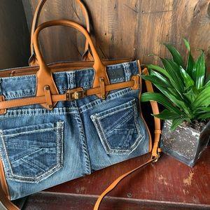 Handbags - Flirty denim bag. NEW